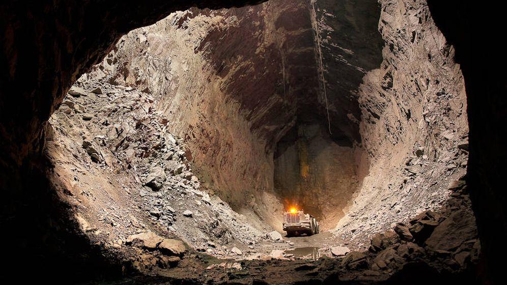 Foto: Interior de la mina de Aguas Teñidas. (Matsa)