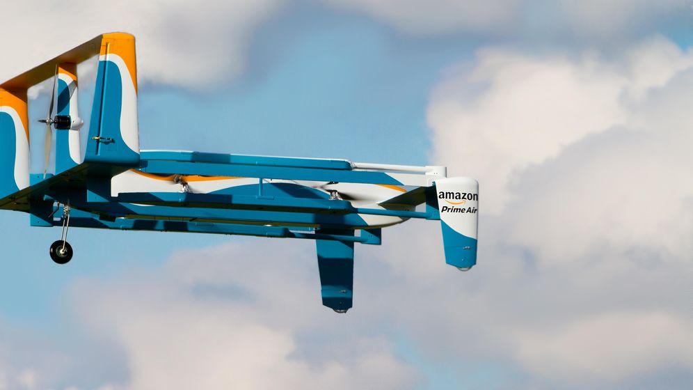Foto: El nuevo prototipo de dron repartidor de Amazon. (Foto: Amazon)