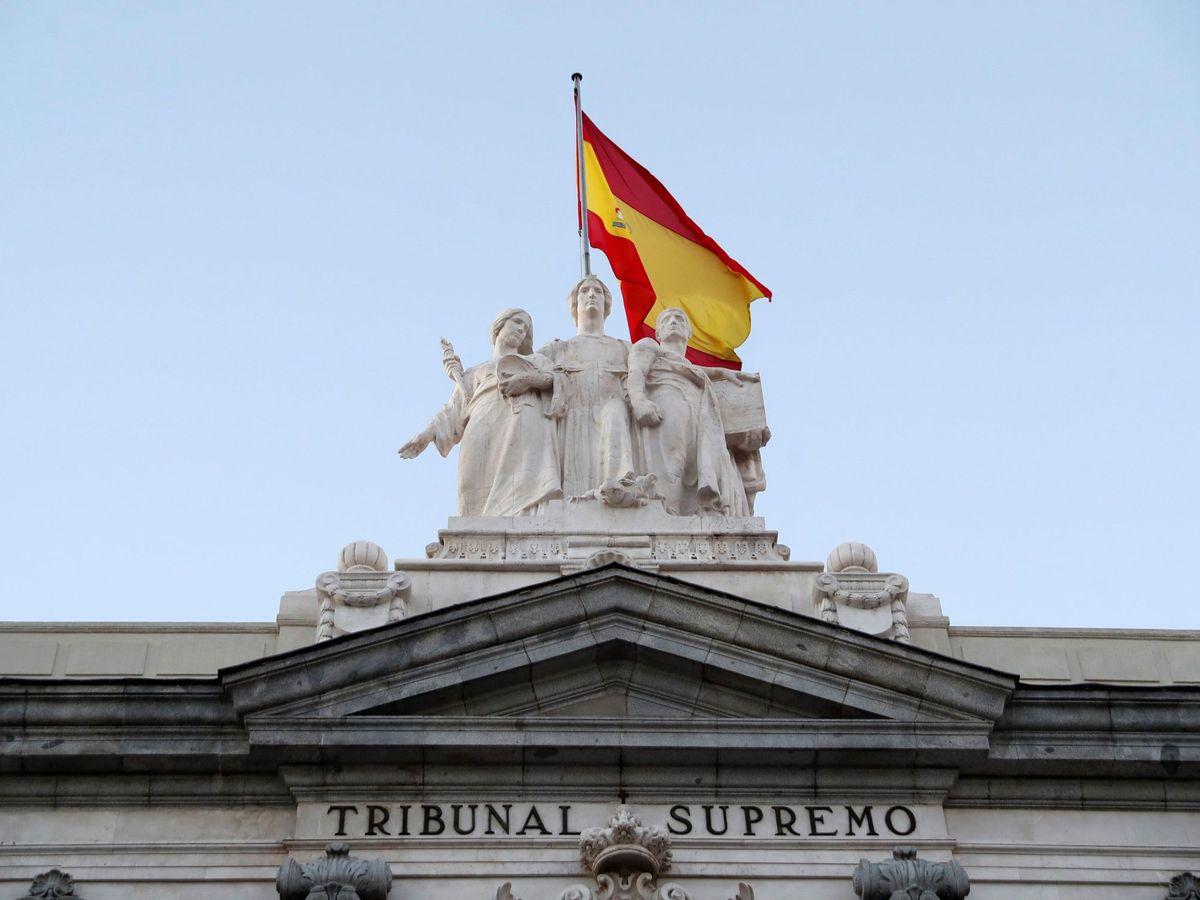 Foto: Imagen de la fachada del Tribunal Supremo.