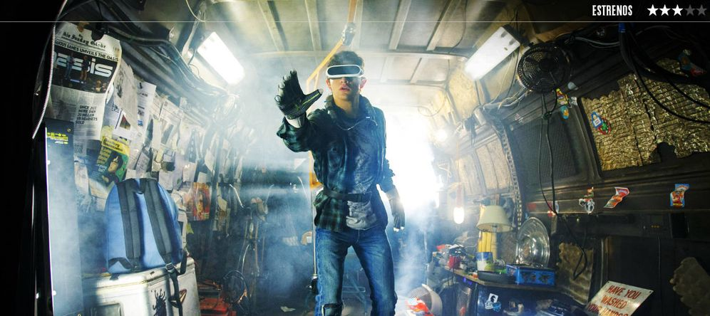 Foto: Tye Sheridan es Wade en 'Ready Player One', la última película de Spielberg. (Warner)