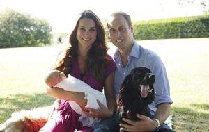Salen a la luz las primeras fotos oficiales del Príncipe Jorge