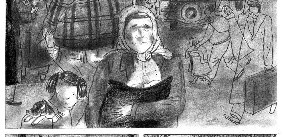 Foto: Imagen del libro 'Winnipeg, el barco de Neruda'