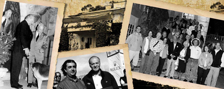 Foto: Los Regojo Bacardí junto a miembros de la Familia Real (Vanitatis)