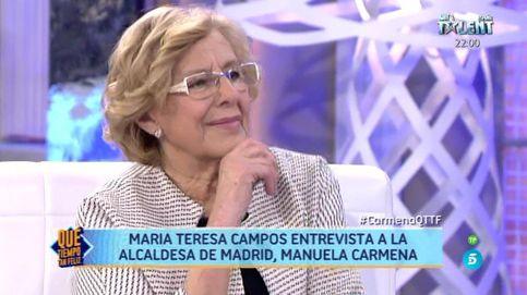 Manuela Carmena se 'confiesa' ante María Teresa Campos