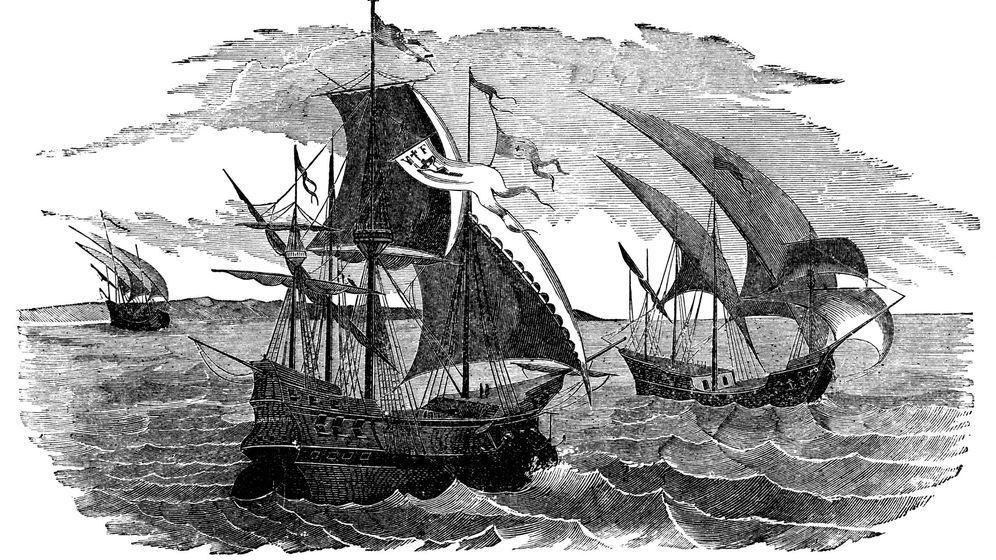 Foto: Flota de navegación a México a Hernán Cortés (iStock)
