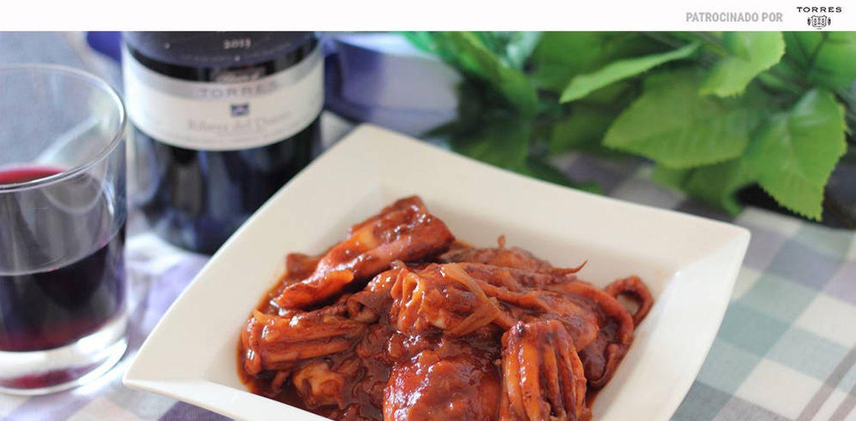 Calamares en salsa americana: la combinación perfecta de mar, brandy y chile