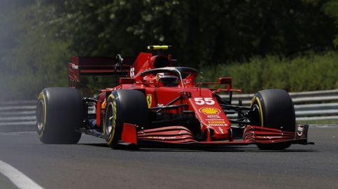 Accidente de Sainz, Alonso (9º) y aviso de Hamilton a Verstappen en Hungría