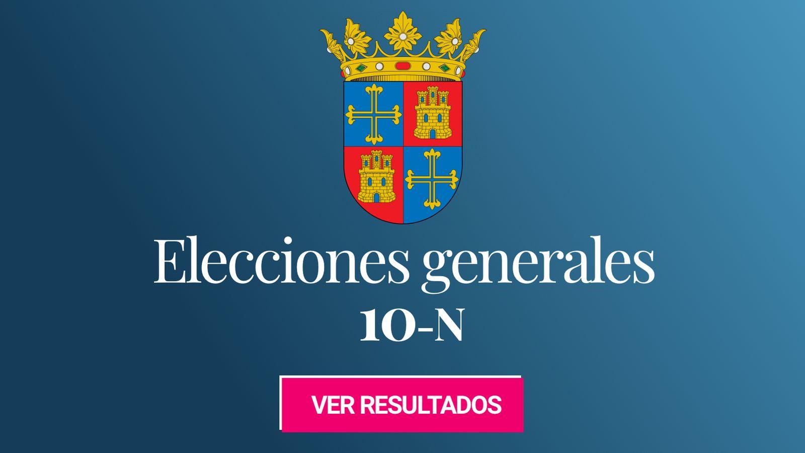 Foto: Elecciones generales 2019 en Palencia. (C.C./EC)
