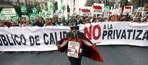 """Foto: Los funcionarios se rebelan contra la Junta: """"¡Hasta aquí hemos llegado!"""""""