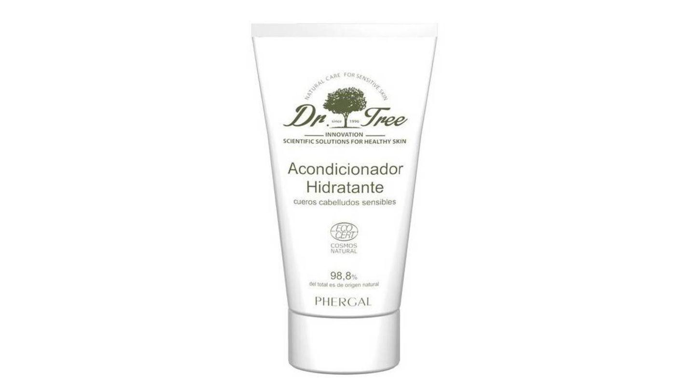 Crema Acondicionadora Hidratante para Cabellos Sensibles de Dr. Tree.