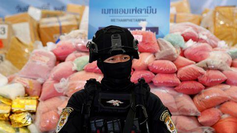 Así ha destruido Tailandia más de nueve toneladas de droga