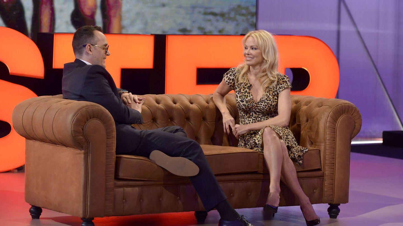 Pamela Anderson en 'Chester'. (Mediaset España)