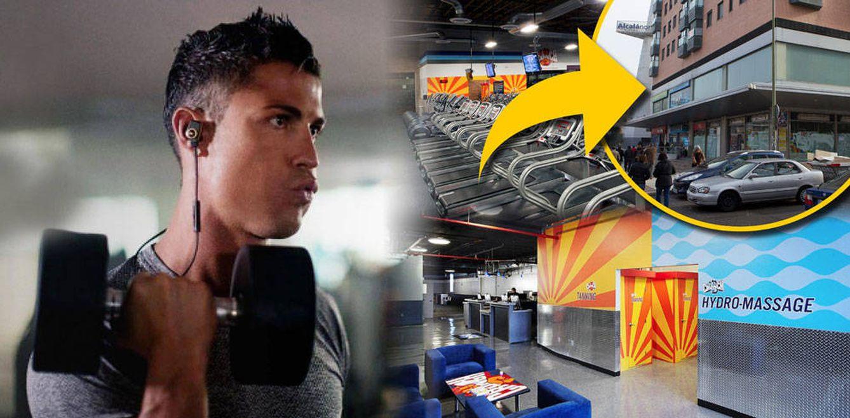 Foto: Cristiano Ronaldo en un fotomontaje realizado en Vanitatis