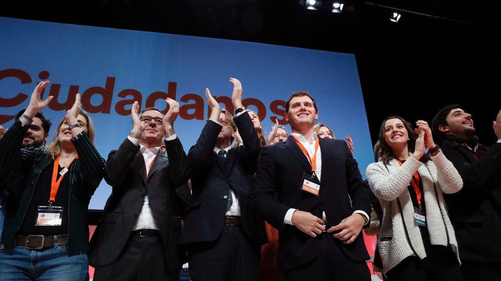 Foto: Clausura de la IV Asamblea General de Ciudadanos. (EFE)