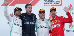 Post de Resultado de F1: La exhibición de Mercedes con el suspiro, por fin, de Carlos Sainz