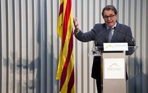 Ofensiva jurídica contra Artur Mas por desobedecer al Constitucional