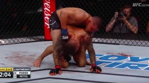 El KOT de la jornada en la UFC: Poirier atacó la costilla de Pettis