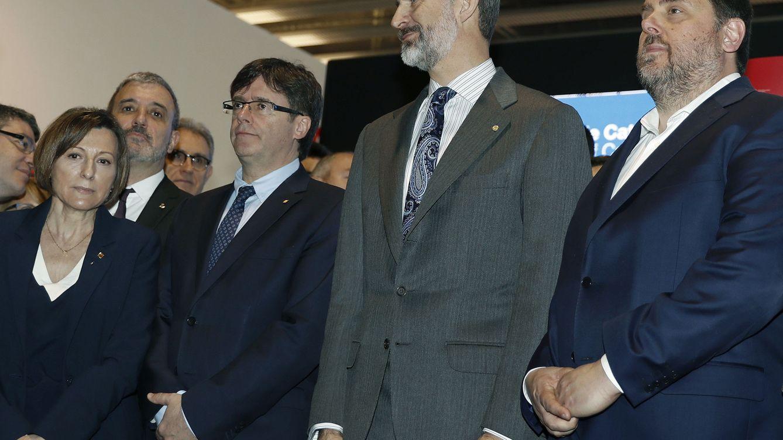 El Rey vuelve a Cataluña tras la DUI y el 21-D: la foto que no se repetirá este año