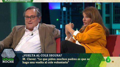 María Claver se harta de Marhuenda por esto que ha dicho en 'La Sexta noche'