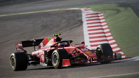 Sainz ilusiona en Imola pese al dominio de Mercedes y al accidente de Leclerc