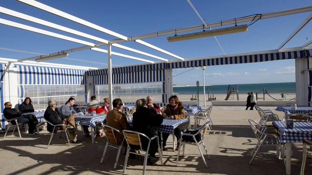 Foto: Chiringuito a pie de playa