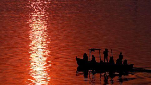 Festival de deportes acuáticos 'Jal Mahotsav' en India