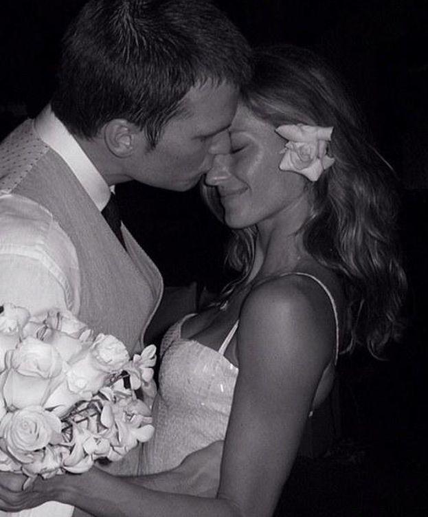 Foto: La pareja el día de su boda (Instagram)