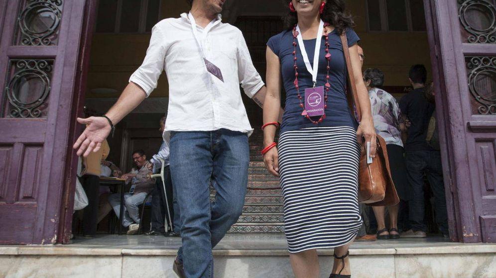 Foto: Teresa Rodríguez y Kichi. (EFE)