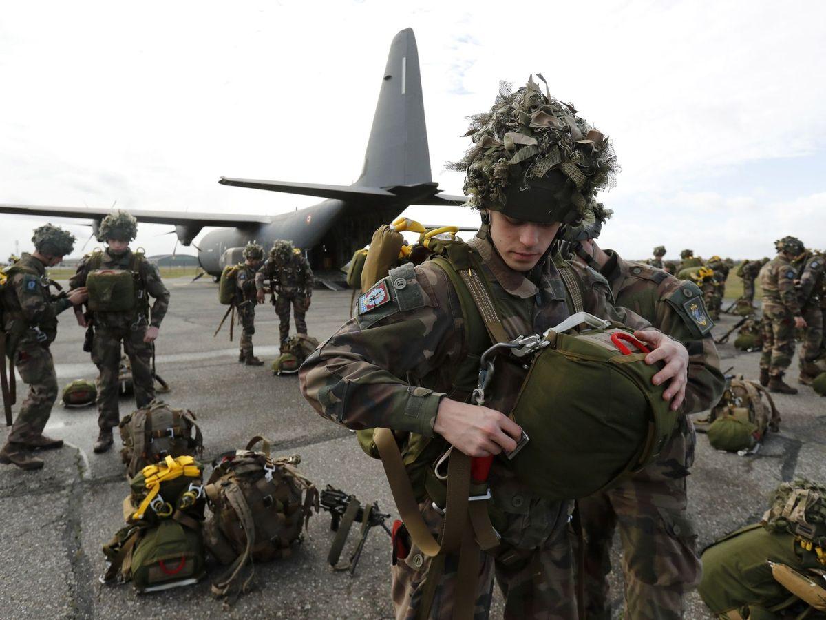 Foto: Miembros del ejército francés, en una foto de archivo. (EFE)