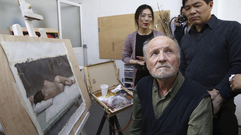 Hallan una obra de Antonio López en un punto de venta de droga en Vallecas (Madrid)