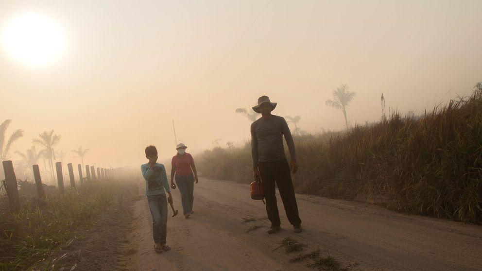 Brasil detiene a tres sospechosos de provocar incendios en la Amazonia