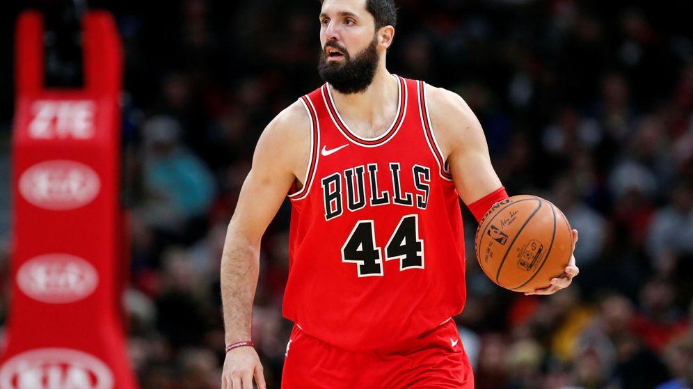 Foto: Nikola Mirotic abandona Chicago Bulls tras temporadas y media. (EFE)