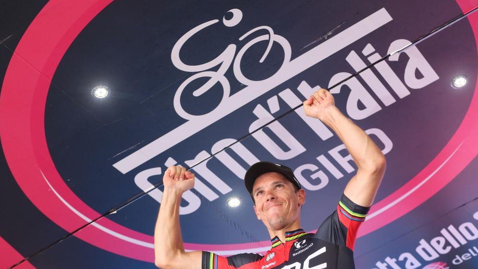 Foto: Gilbert ganó su segunda etapa (Foto: Giro)
