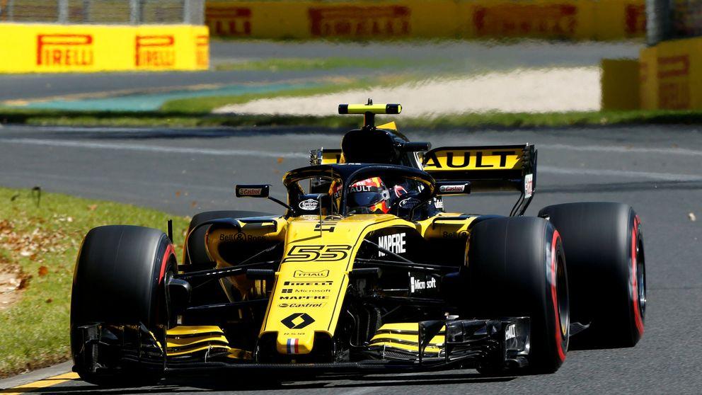 Sainz: Estamos ahí, ahí con McLaren, queremos liderar la media parrilla