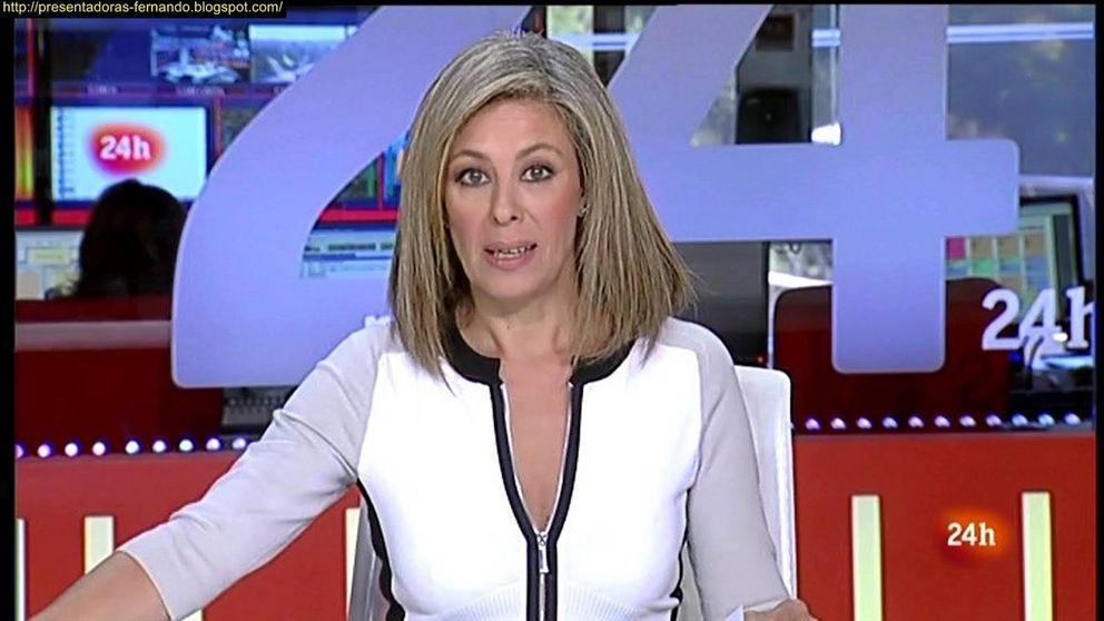 La nueva 'pillada' a Beatriz Pérez-Aranda en el Canal 24 horas