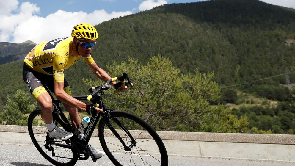El Tour más difícil para Froome acaba siendo en el que menos tuvo que sufrir