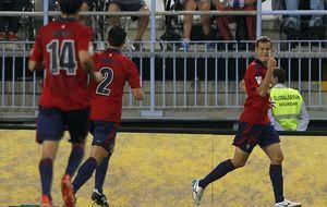 Osasuna asalta el fortín del Málaga y empieza el camino de la recuperación