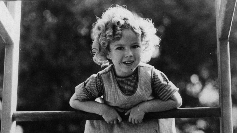 Una joven Shirley Temple en 1933. (Getty)