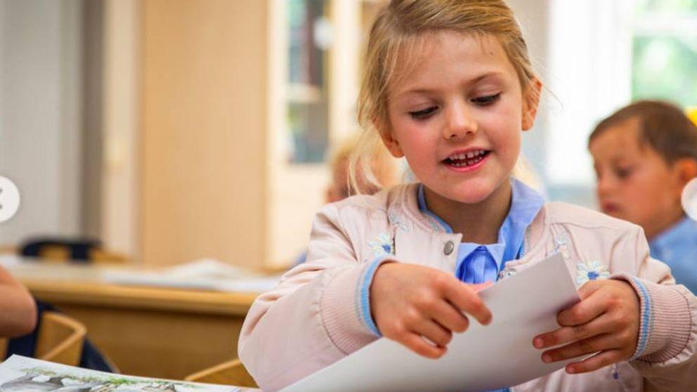 Las fotos de Estelle de Suecia en su primer día de colegio (público)