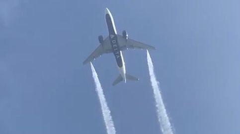Cerca de 60 heridos en EEUU por caerles combustible lanzado desde un avión
