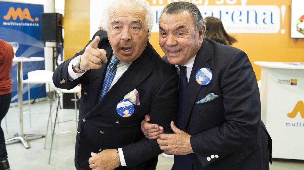 Foto: Antonio y Rafael, Los del Río. (Cordon Press)