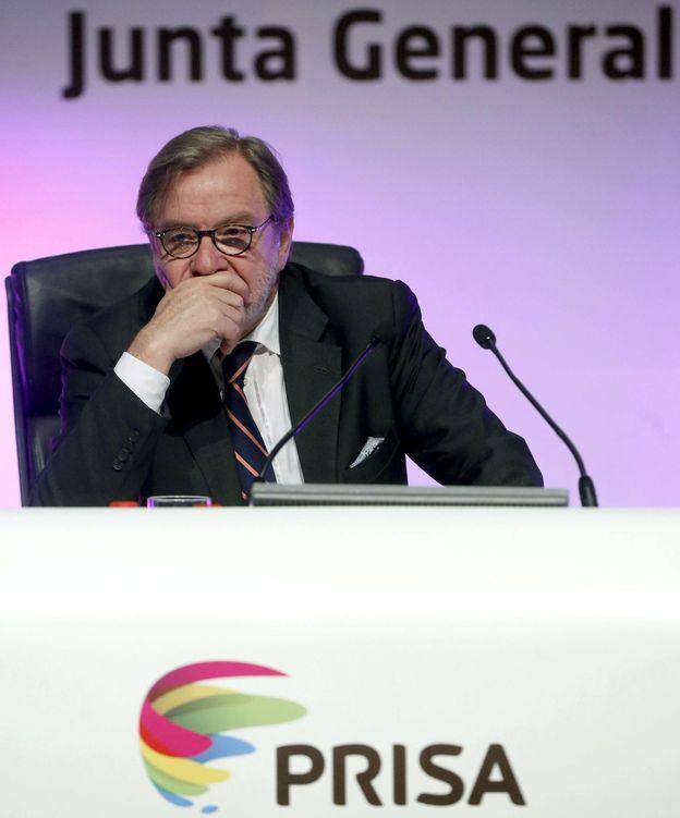 Foto: Juan Luis Cebrián, presidente de Prisa (EFE)
