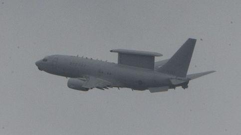 Avión de vigilancia AWACS