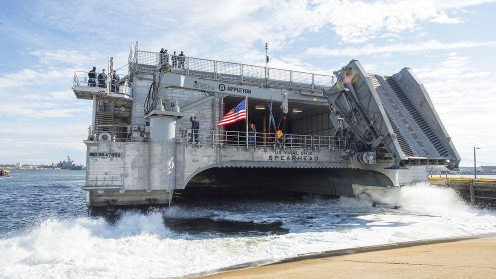 Los nuevos buques de transporte de EEUU: la logística marca la estrategia
