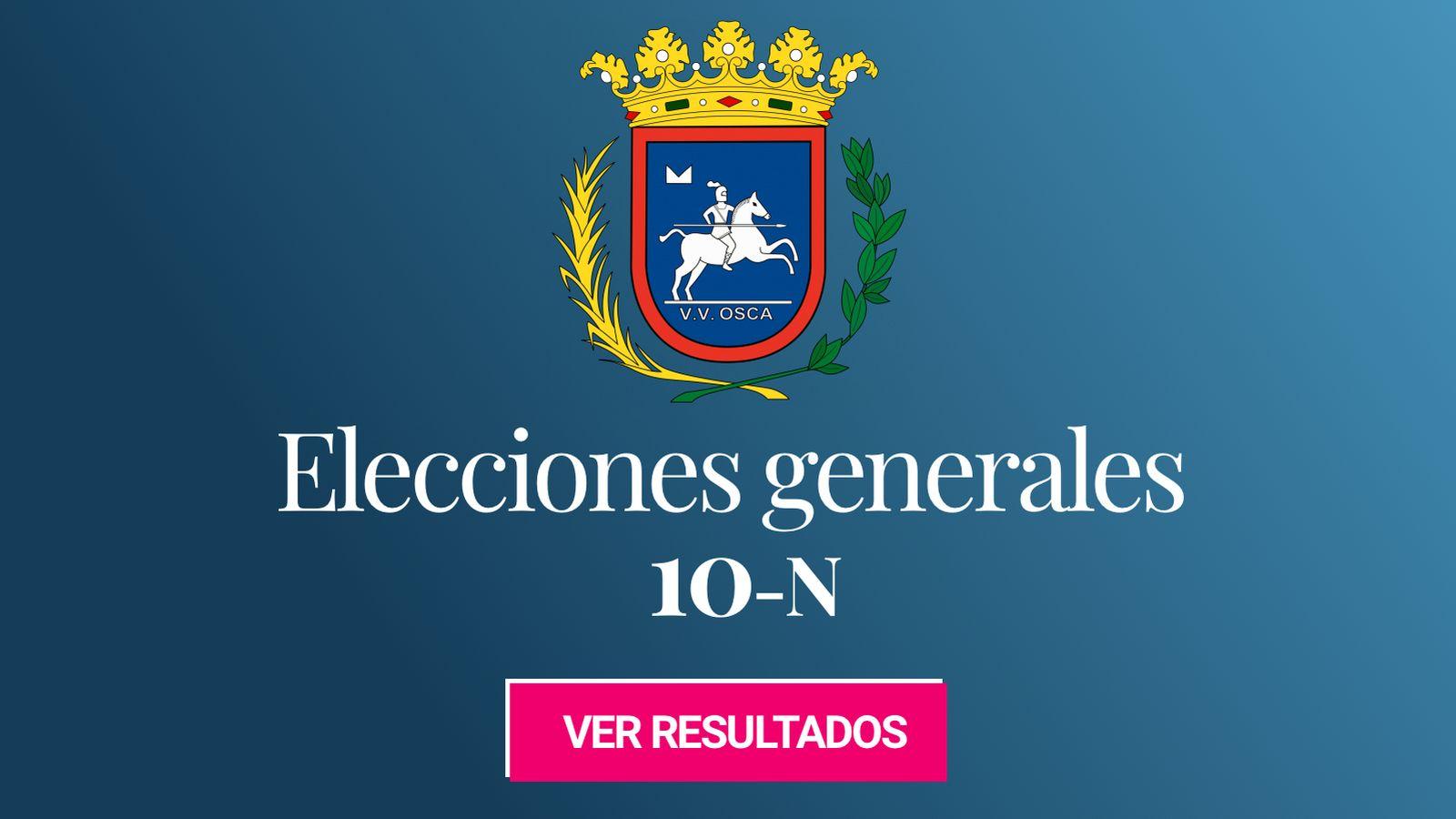 Foto: Elecciones generales 2019 en Huesca. (C.C./EC)