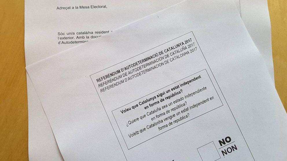 Los catalanes en el extranjero ya 'votan' el referéndum del 1-O