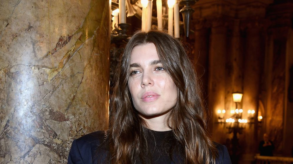 Foto: Carlota Casiraghi y su cabello casi siempre perfecto. (Getty)