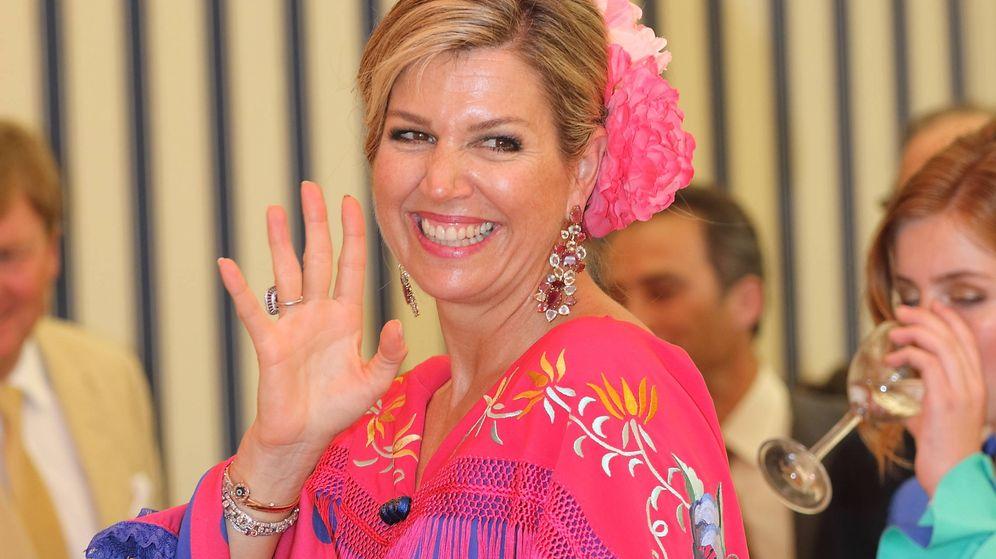 Foto: La reina Máxima de Holanda. (Lagencia Grosby)
