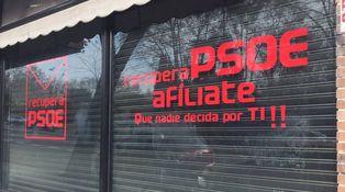 Aparece 'otra' sede del PSOE en Ferraz... promovida por el sanchismo