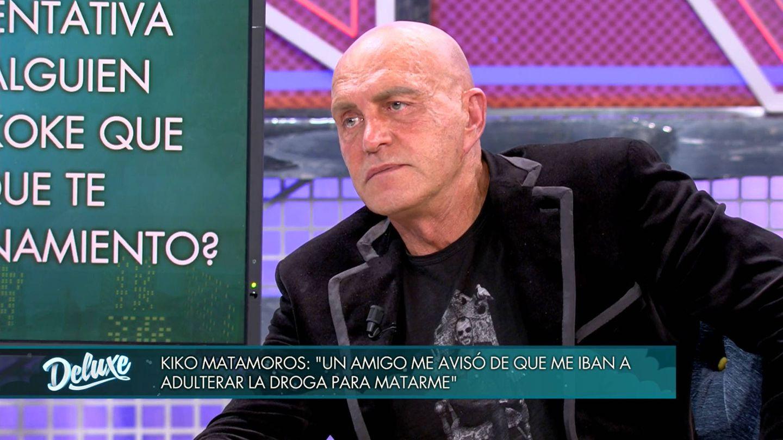Kiko Matamoros, en 'Sábado deluxe'. (Telecinco)